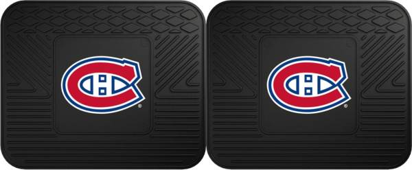 FANMATS Montreal Canadiens Two Pack Backseat Utility Mats product image