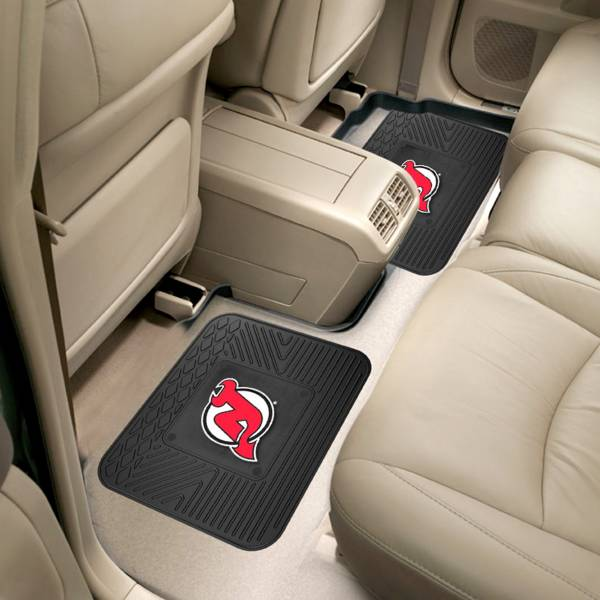 FANMATS New Jersey Devils Two Pack Backseat Utility Mats product image