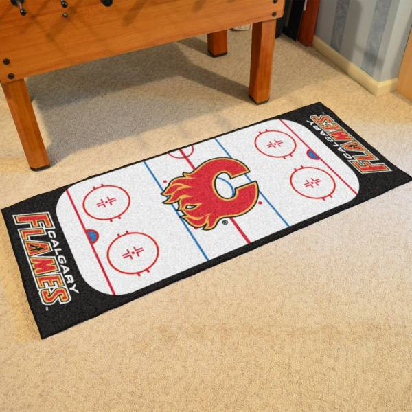 FANMATS Calgary Flames Rink Runner Floor Mat product image