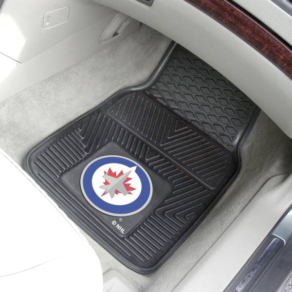 FANMATS Winnipeg Jets 2 Piece Heavy Duty Vinyl Car Mat Set product image