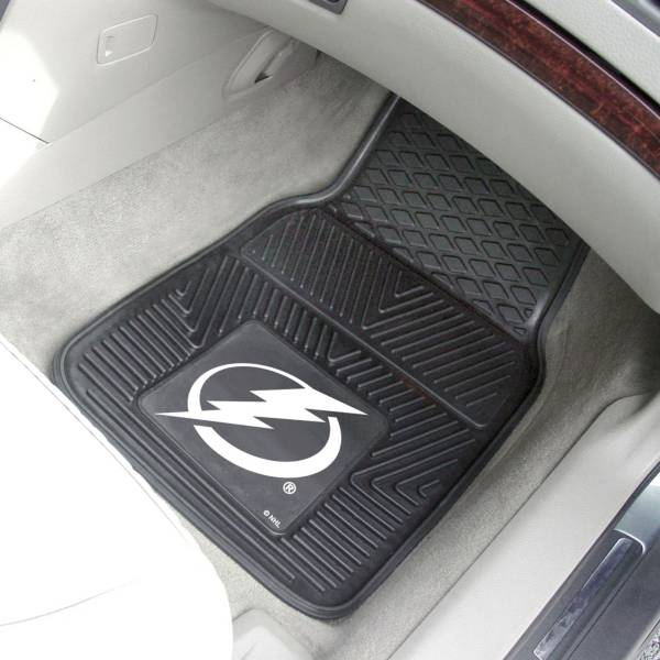 FANMATS Tampa Bay Lightning Two Piece Heavy Duty Vinyl Car Mat Set product image