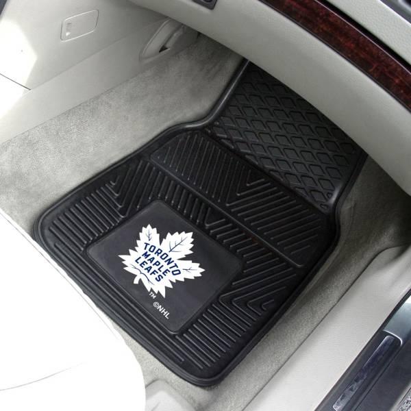 Toronto Maple Leafs Two Piece Heavy Duty Vinyl Car Mat Set product image