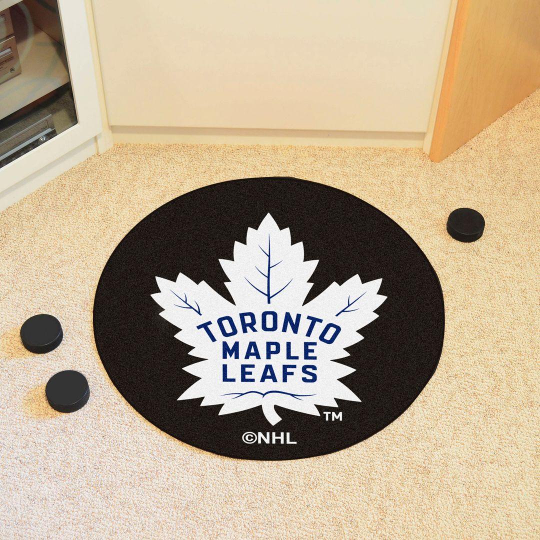 finest selection ef784 c0ac9 FANMATS Toronto Maple Leafs Puck Mat