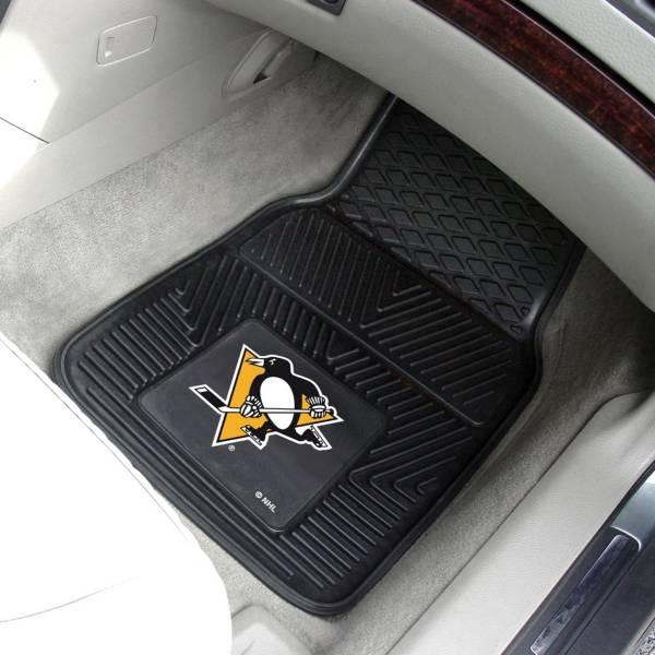 FANMATS Pittsburgh Penguins Two Piece Heavy Duty Vinyl Car Mat Set product image