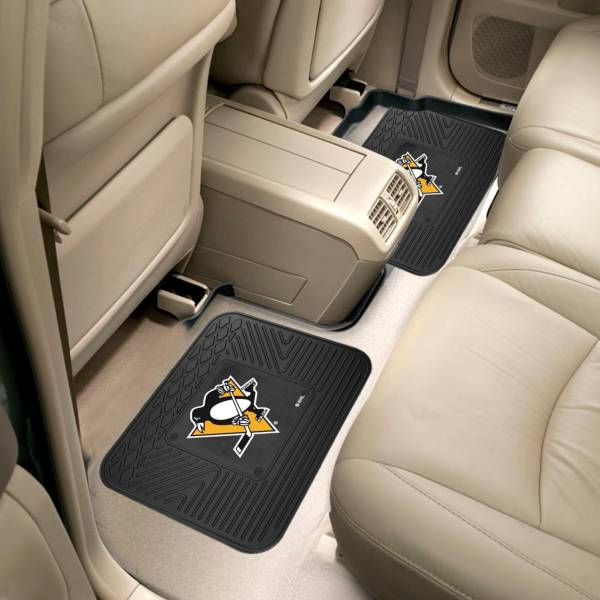 Pittsburgh Penguins Two Pack Backseat Utility Mats product image