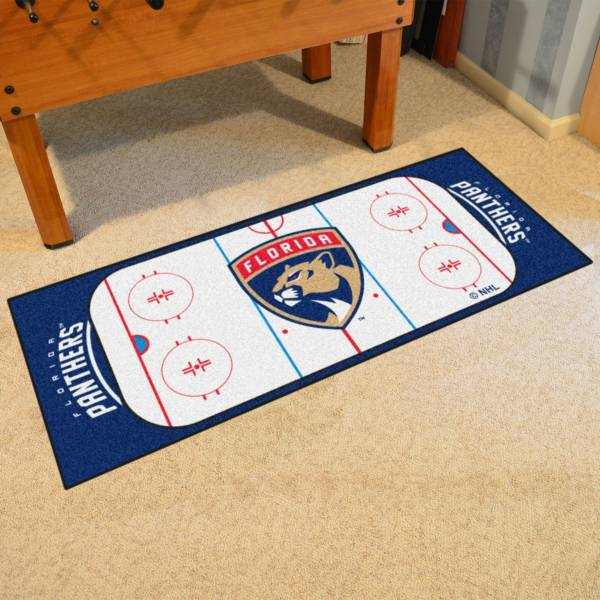 Florida Panthers Two Piece Heavy Duty Vinyl Car Mat Set product image