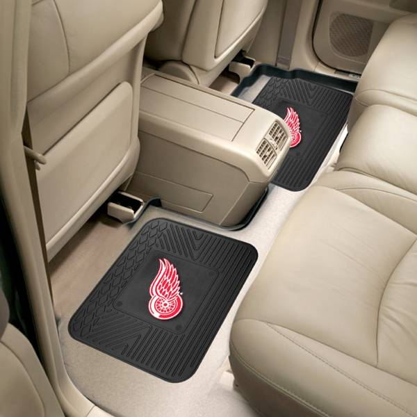 FANMATS Detroit Red Wings Two Pack Backseat Utility Mats product image