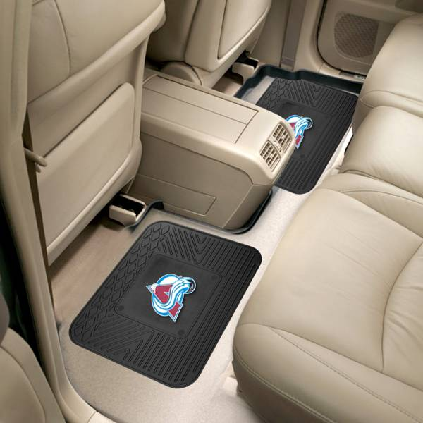 FANMATS Colorado Avalanche Two Pack Backseat Utility Mats product image