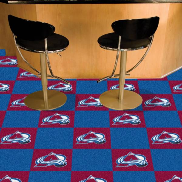 FANMATS Colorado Avalanche Carpet Tiles product image