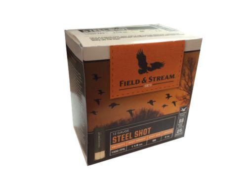 field stream steel shot 12 gauge shotgun ammunition