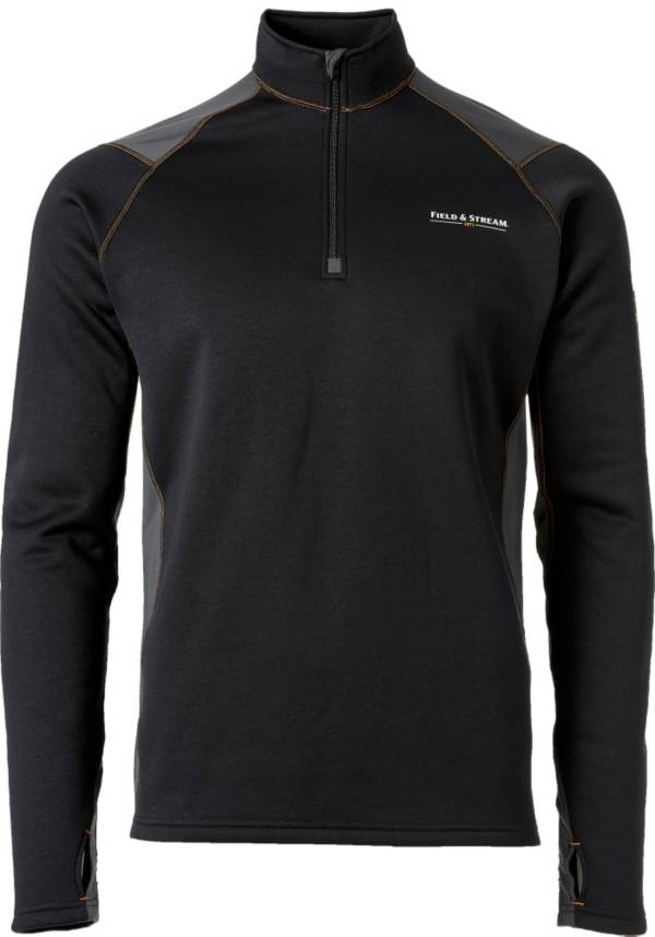 Field & Stream Men's Base Defense Arctic Chill Half Zip Base Layer Shirt product image