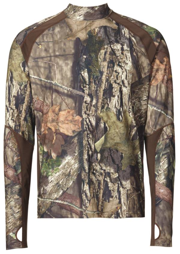 Field & Stream Men's Base Defense Midweight Mock Neck Base Layer Shirt product image