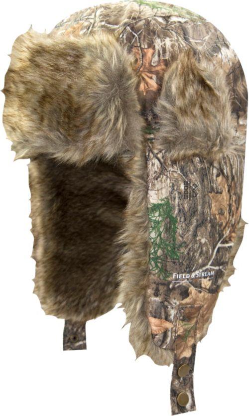 f6de4c0903c Field   Stream Men s Faux Fur Trapper Hat 1