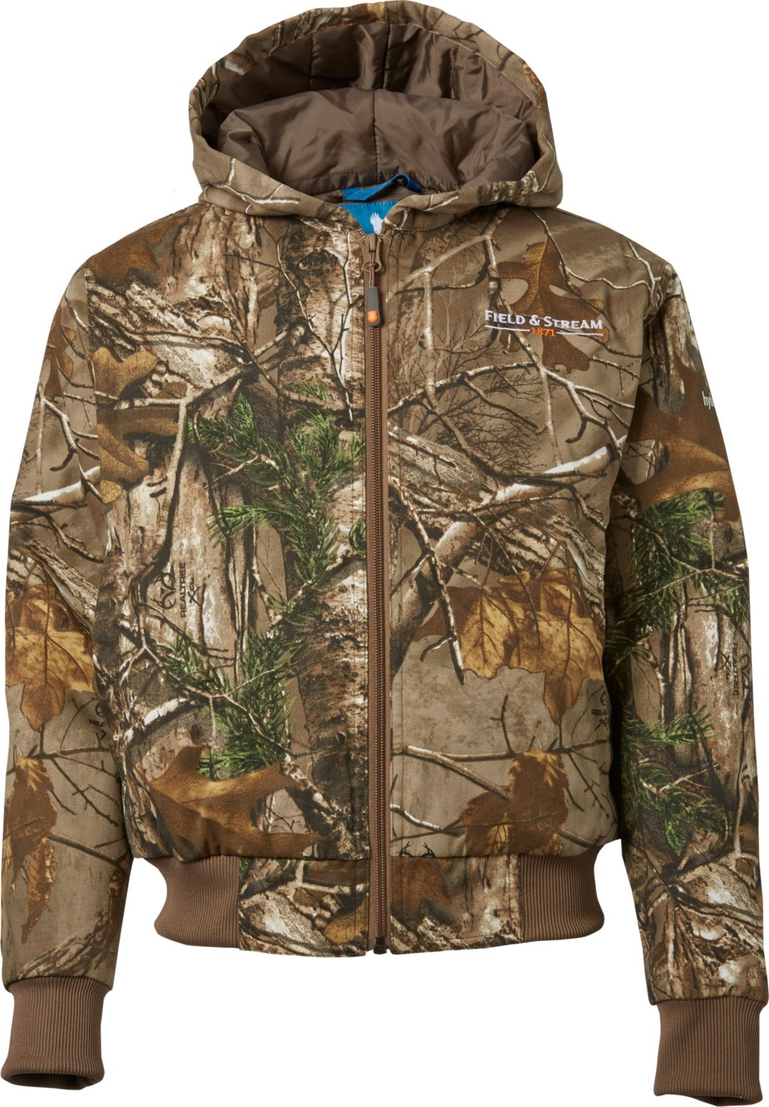 f18e823651308 Field & Stream Youth Twill Bomber Insulated Hunting Jacket | Field ...
