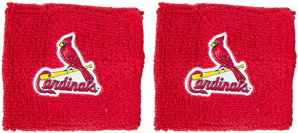 """Franklin St. Louis Cardinals Red 2.5"""" Wristbands product image"""