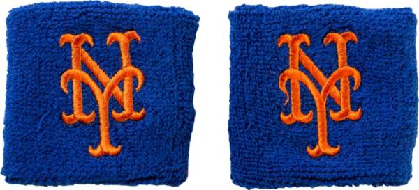 """Franklin New York Mets Royal 2.5"""" Wristbands product image"""