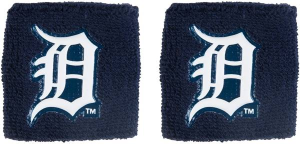 """Franklin Detroit Tigers Navy 2.5"""" Wristbands product image"""