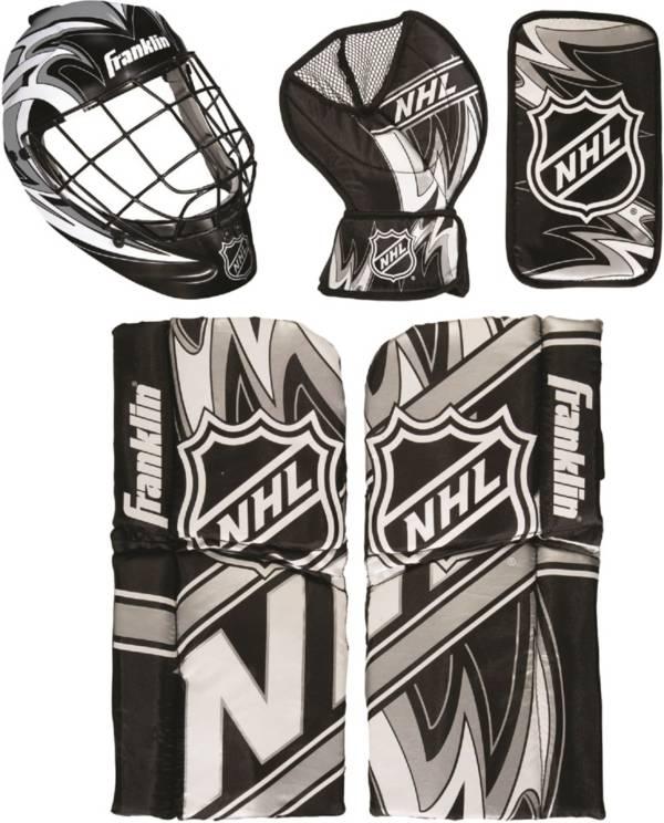 Franklin NHL Mini Hockey Goalie Equipment and Mask Set product image