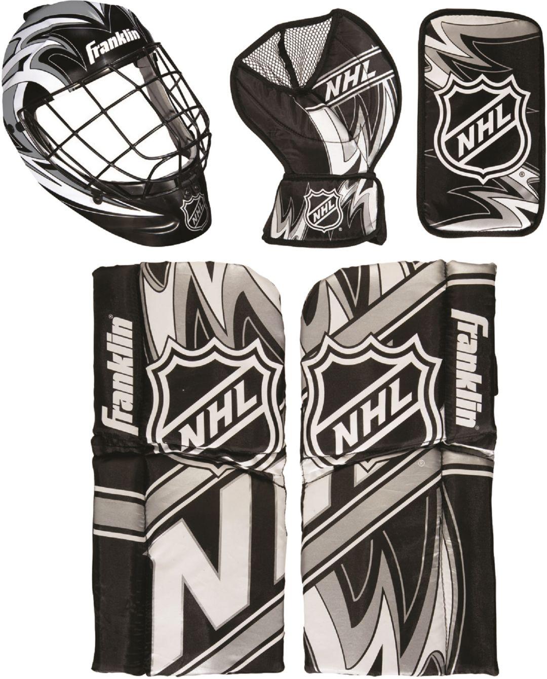Franklin Nhl Mini Hockey Goalie Equipment And Mask Set Dick S