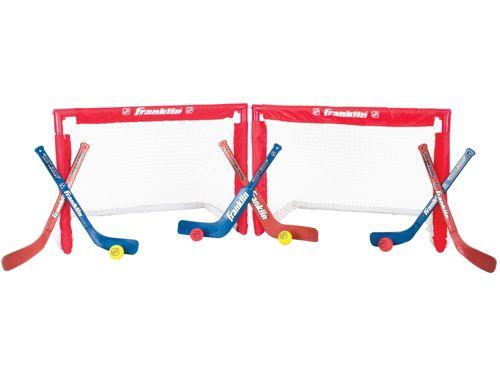 c9c282b7326 Franklin NHL Mini Hockey Insta-Set Goals