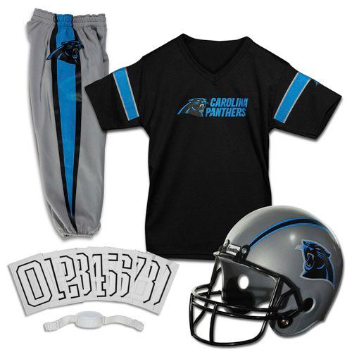 Franklin Carolina Panthers Kids  Deluxe Uniform Set  23ad1f33e