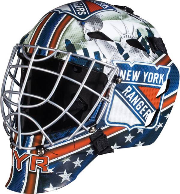 Franklin New York Rangers Mini Goalie Helmet product image