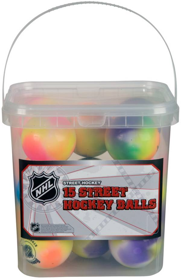Franklin NHL Extreme Color Street Hockey Ball Bucket product image