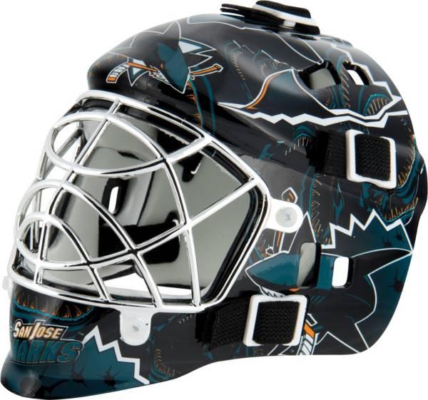 Franklin San Jose Sharks Mini Goalie Helmet product image