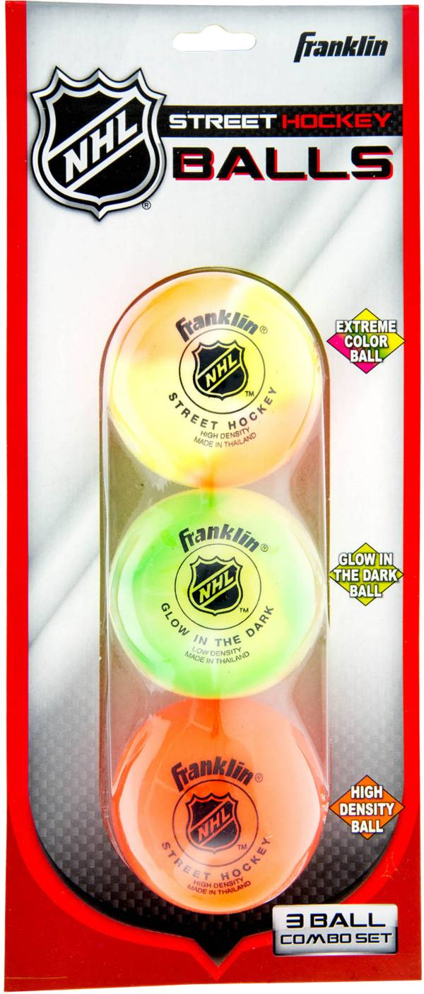 Franklin NHL Street Hockey Balls Combo Pack – 3 Pack product image