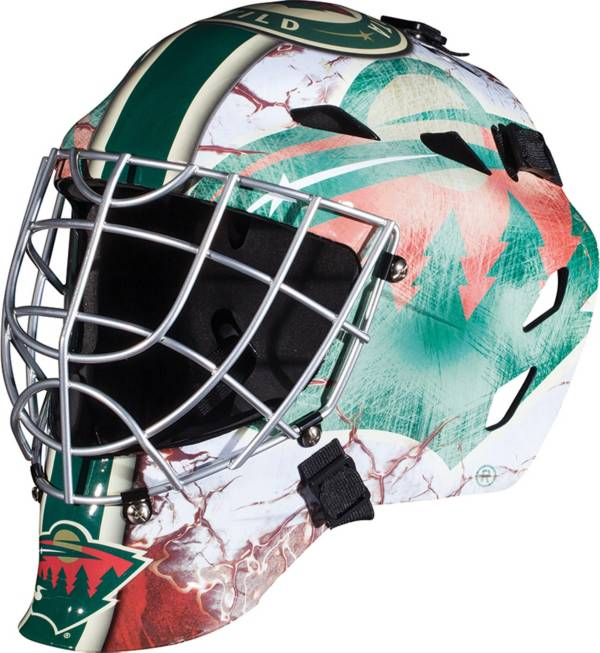 Franklin Minnesota Wild Mini Goalie Helmet product image