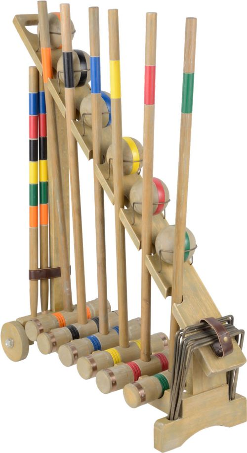 Franklin Vintage Croquet Set Noimagefound Previous