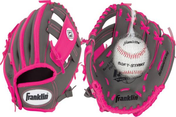 "Franklin 9.5"" Girls' T-Ball RTP Series Glove w/ Ball product image"