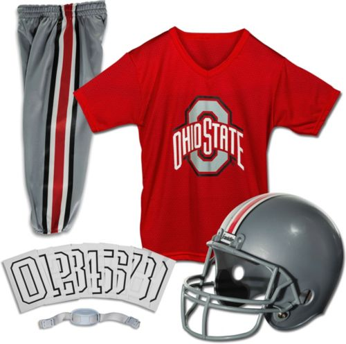 6c81fe5e753 Franklin Ohio State Buckeyes Deluxe Uniform Set. noImageFound. Previous