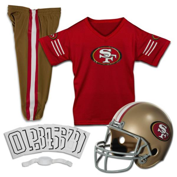 Franklin San Francisco 49ers Youth Deluxe Uniform Set product image