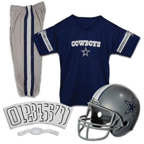 5d87424fc Franklin Dallas Cowboys Youth Deluxe Uniform Set