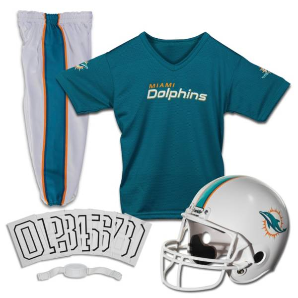 Franklin Miami Dolphins Youth Deluxe Uniform Set product image