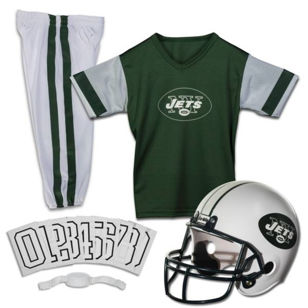 Franklin New York Jets Youth Deluxe Uniform Set product image