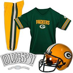 premium selection 3863c 29a1e Franklin Green Bay Packers Deluxe Uniform Set