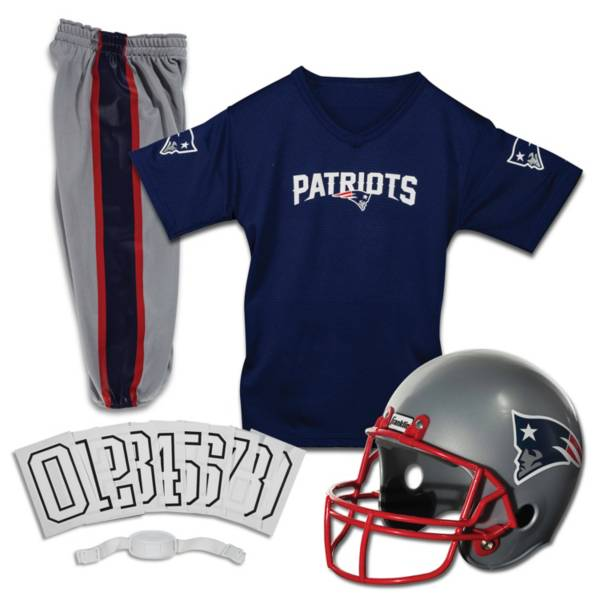 Franklin New England Patriots Youth Deluxe Uniform Set product image