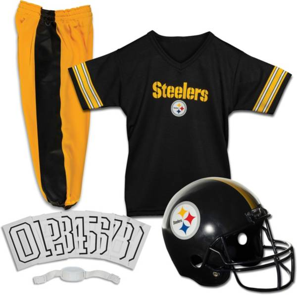 Franklin Pittsburgh Steelers Youth Deluxe Uniform Set product image