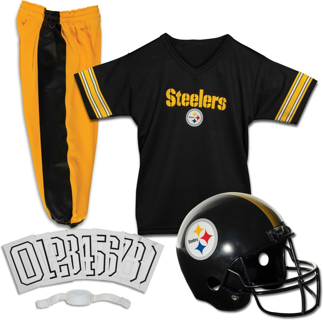 new style 1e568 1efaf Franklin Pittsburgh Steelers Youth Deluxe Uniform Set