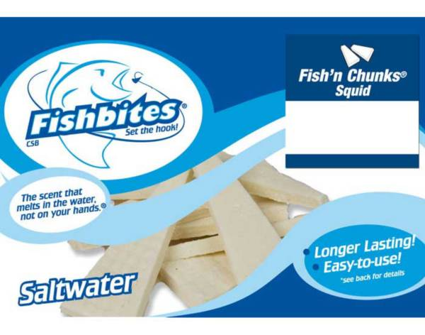 Fishbites Fish'n Chunks Longer Lasting Saltwater Soft Bait product image