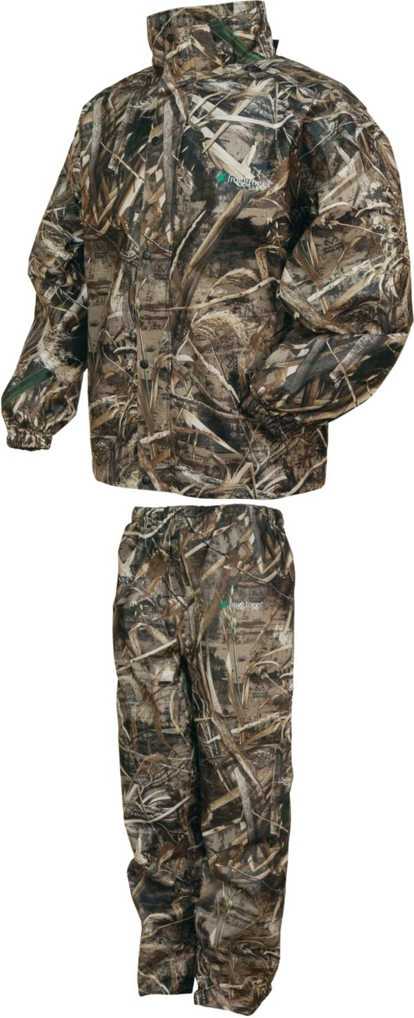 frogg toggs Men's All Sport Camo Rain Suit product image