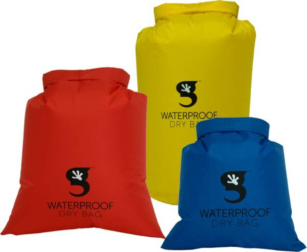 geckobrands Waterproof Compression Dry Bags- 3 Pack product image