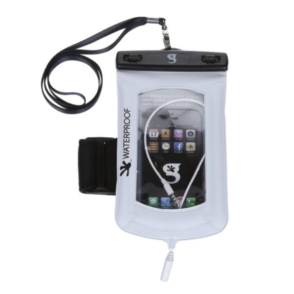 geckobrands Floatable Waterproof Phone Case with Audio Cord and Arm Band product image