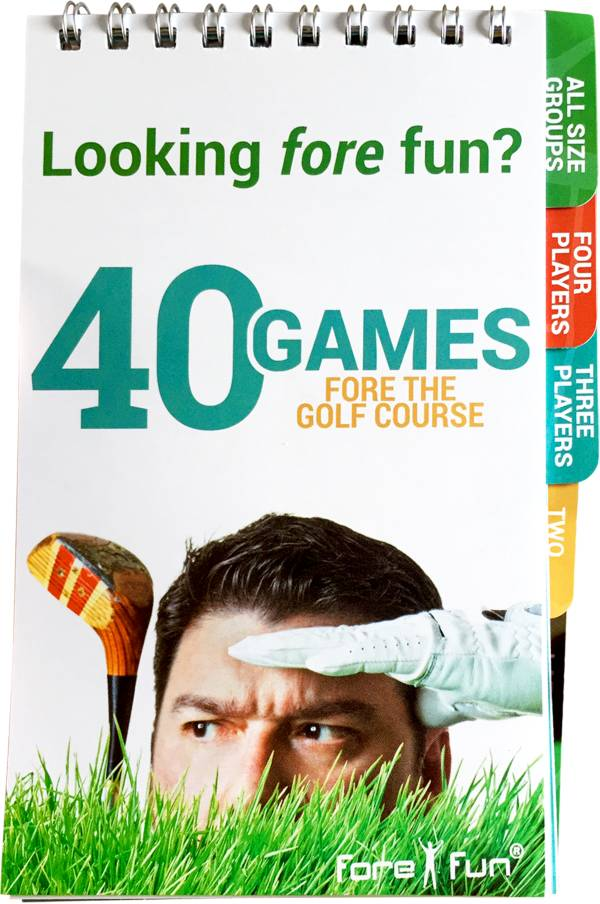 Fore Fun 40 Games Fore the Golf Course Booklet product image