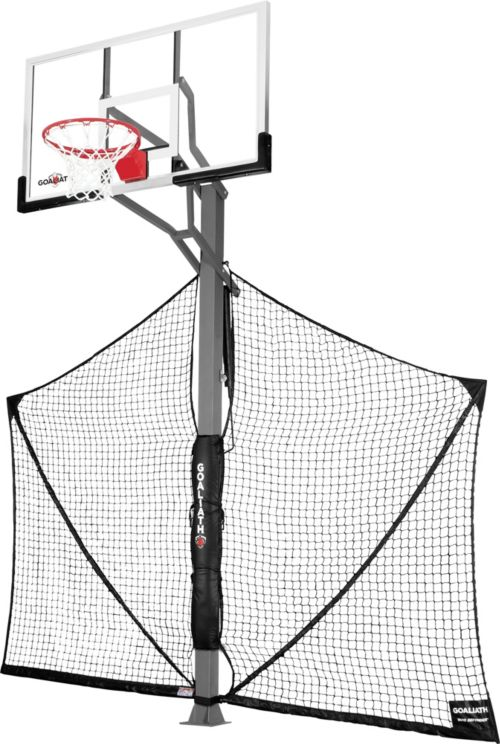 "62545422752 Goaliath 60"" In-Ground Basketball Hoop with Yard Defender 
