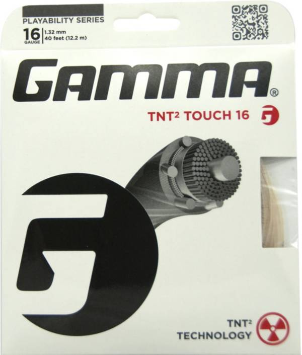 GAMMA TNT2 Touch 16/17 Racquet String product image