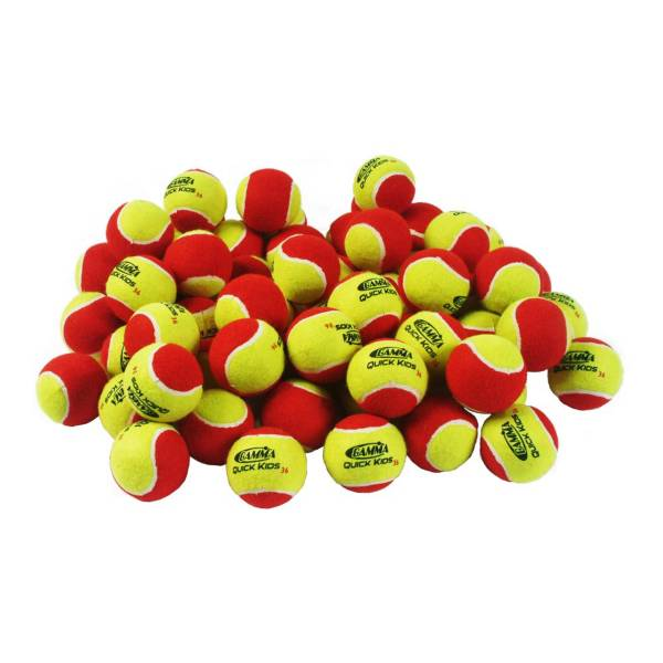 GAMMA Quick Kids 36' Tennis Balls - 60 Ball Pack product image