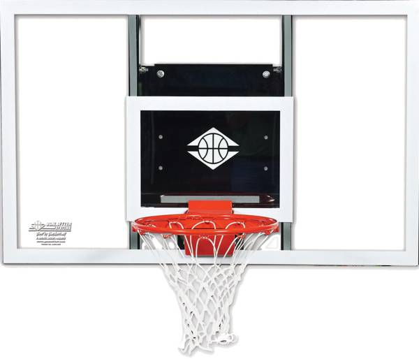 "Goalsetter 72"" Baseline Acrylic Backboard and HD Breakaway Rim product image"